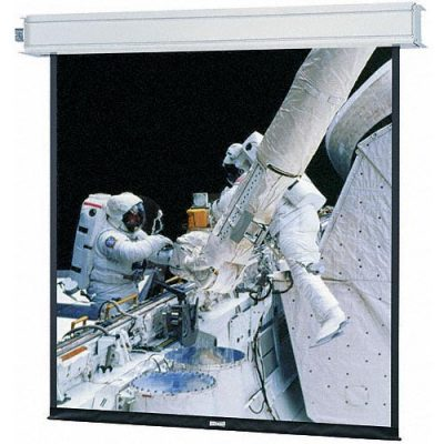 Electric Roll Up/Down Screen 10.5'x13.4' Rear Projection