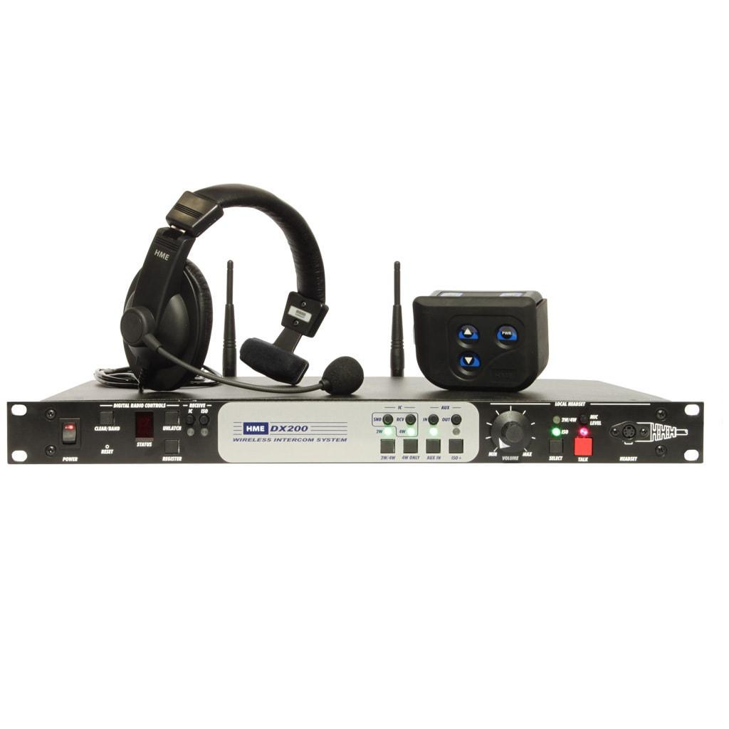 HME DX200 4-Station Wireless Intercom System
