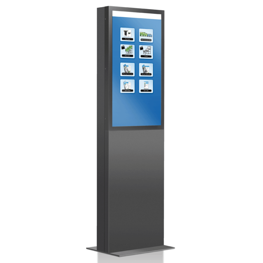 "42"" Prestop Interactive Multi-Touch Totem"