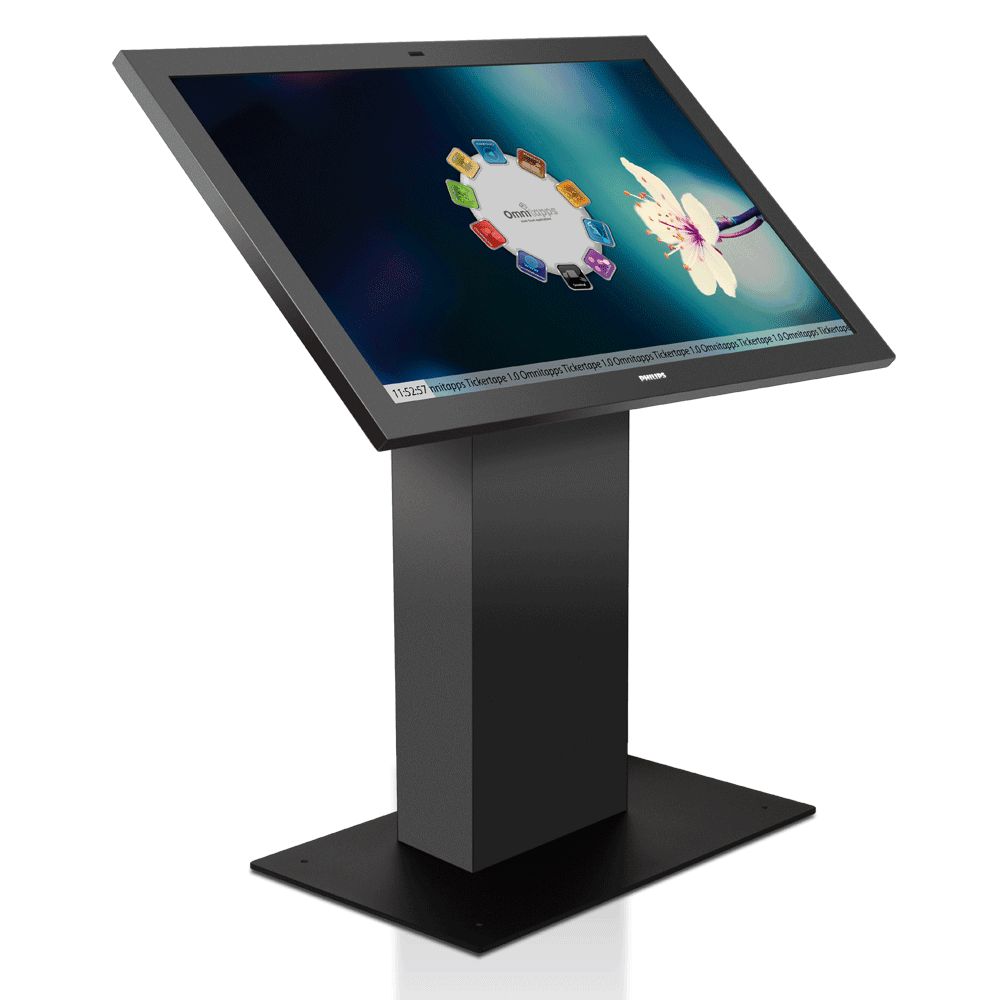 55″ Prestop Interactive Multi-Touch Kiosk - AVRD - AV Rental