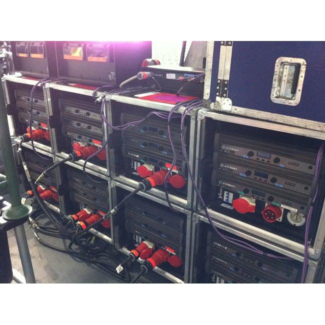 JBL VRX 932 AMP Rack