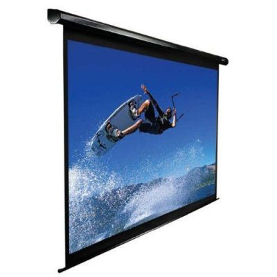 Electric Roll Down Screen 12'x16' Front Projection