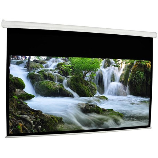 Electric Roll Down Screen 9x12 ft Front Projection