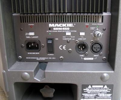 Mackie Srm 450 Power Speaker Avrd Av Rental Depot