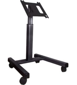 Chief Adjustable Monitor Stand - Wheels