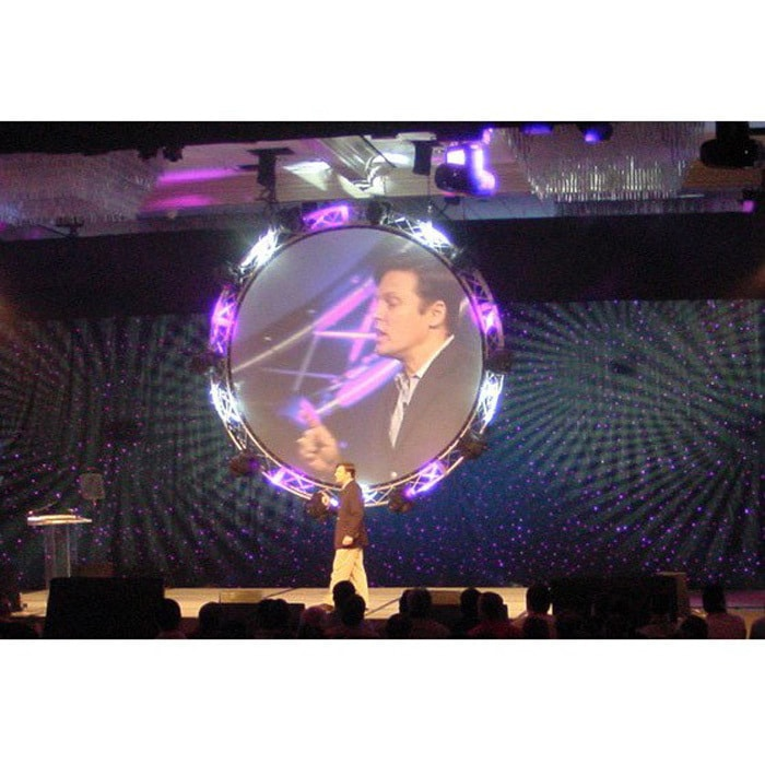 Da Lite 12 Circular Rear Projection Screen