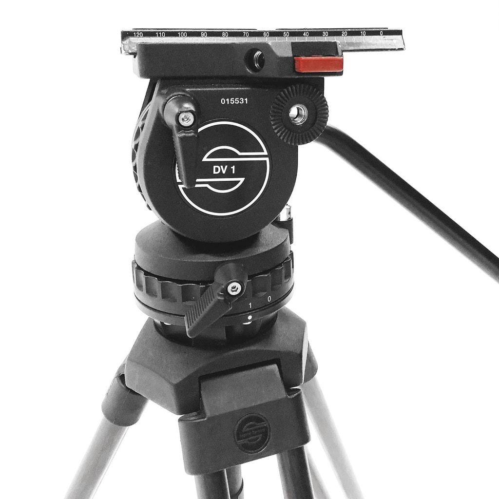 Sachtler Dv 1 Camera Tripod Head Av Rental Depot Avrd