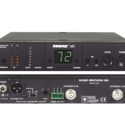 Shure UHF UC4-UA Combo Briefcase