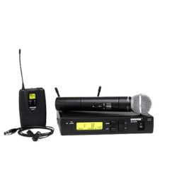Shure UHF ULXS4-G3 Combo Briefcase Kit