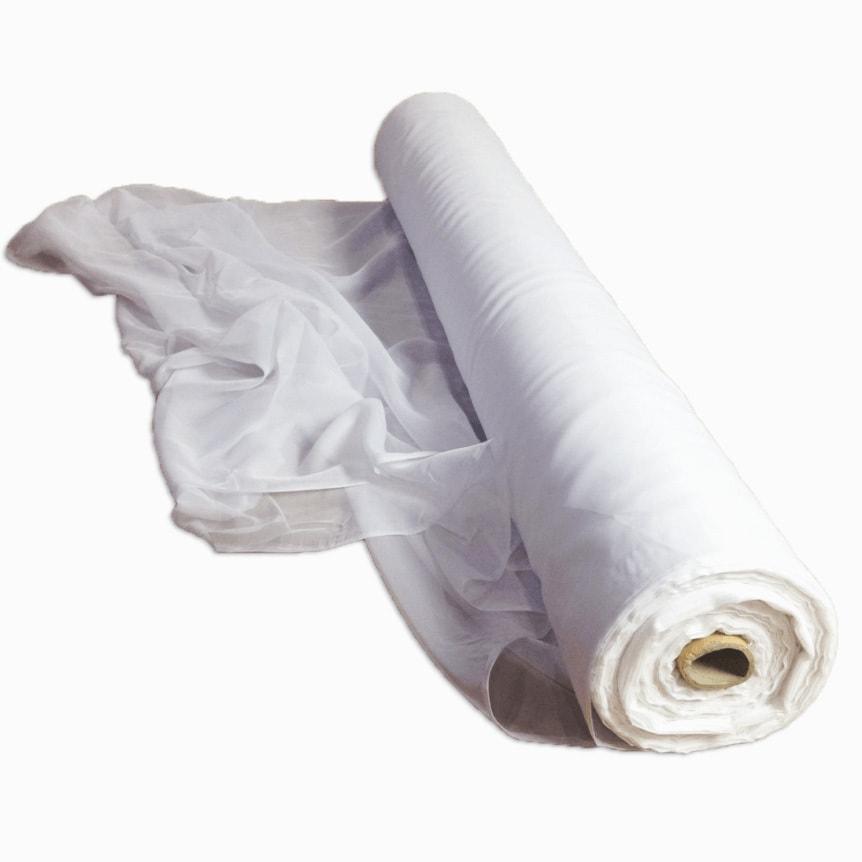 """White Duvetyne Roll 48"""""""