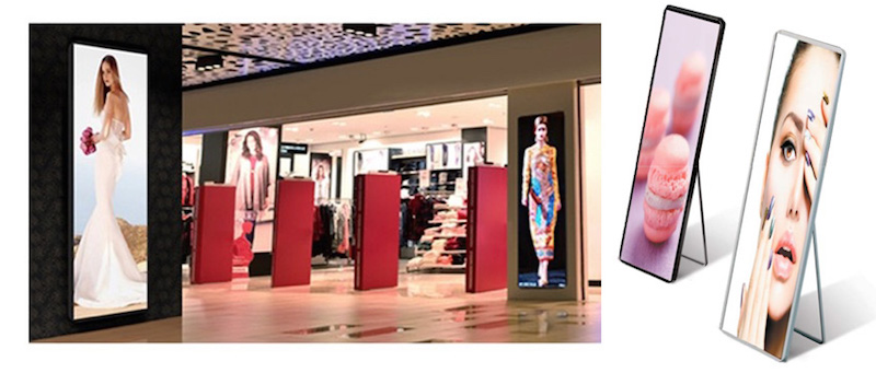 iMira™2 Indoor LED Totem