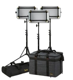 Ikan Mylo Soft Half 3 Pt Light Kit
